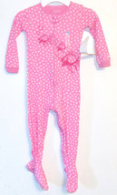 The Childrens Place Toddler Girls Blanket Sleeper Pink White Dots Size 3T NWT - $12.99