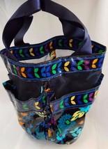 Vera Bradley Midnight Blues Shower Caddy Waterp... - $24.18