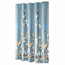 Panda Superstore Magnolia Flower Pattern Shower Curtain Waterproof Bathroom Curt