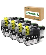 GreenArk Compatible Ink Cartridges Replacement for Brother LC3011 LC-301... - $18.29
