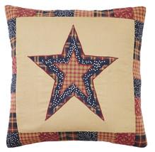 new Olivia's Heartland patriotic Americana handmade Old Glory STAR Pillo... - $485,20 MXN