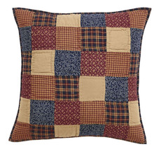 "Olivia's Heartland patriotic Americana handmade Old Glory Pillow Cover 26""x26"" - $24.95"