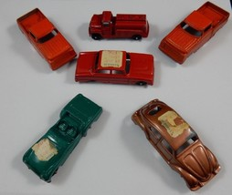 TootsieToy Diecast Vehicles ~ Beetle, Ford Trucks, Triumph, Fire Truck, ... - $60.76