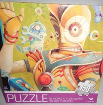 "ROBOTS Puzzle 150 Piece New in Sealed Box 15""x 11.25"" - $9.99"