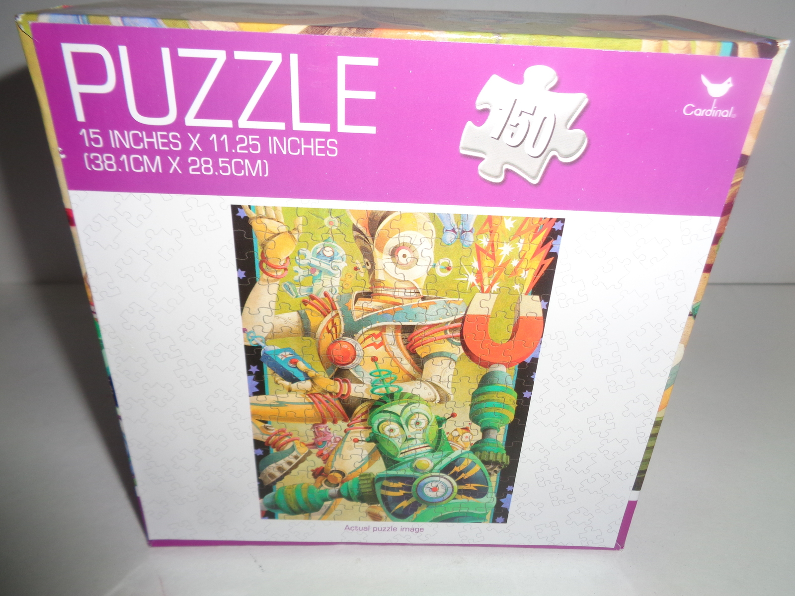 "ROBOTS Puzzle 150 Piece New in Sealed Box 15""x 11.25"""