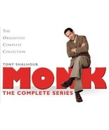 Monk: The Complete Series DVD 32-Disc Box Set L... - $61.00
