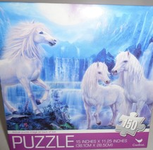 "White Mystical Horse Puzzle 150 Piece New in Sealed Box 15""x 11.25"" - $9.99"