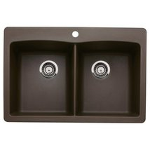 Blanco 440218 Diamond DoubleBasin DropIn or Und... - $387.83