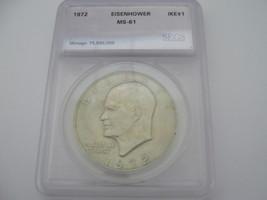 Eisenhower Dollar , Lot of 3 , Certified - $25.00