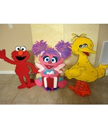 Elmo Sesame Street WOOD Standees 3 feet  - $49.99