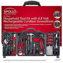 Tool Screwdriver Apollo Precision Tools DT0738 Household Kit 161Piece 16... - $1.653,07 MXN