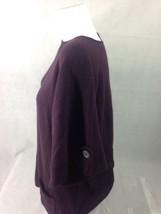 a.n.a. Women's Top Verona Purple Scooped Neck Size L Bin 28 #8 image 3