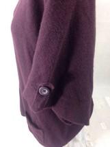 a.n.a. Women's Top Verona Purple Scooped Neck Size L Bin 28 #8 image 4