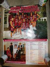 University of South Carolina Gamecocks 1995 WOMENS BASKETBALL POSTER NAN... - $4.00