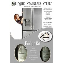 Art Supplie Paint by Number Giani Granite FGFKIT Liquid Stainless Fridge... - $111.00