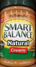 Smart Balance Natural CREAMY PEANUT BUTTER 26oz... - $43.66
