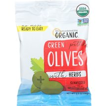 Mediterranean Organic Olives with Herbs - Green... - $61.45