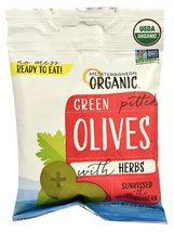 Mediterranean Organic Green Pitted Olives -- 2.... - $12.94