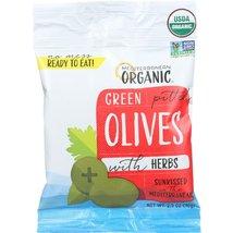 Mediterranean Organics Olives Green Pitd W He - $61.45