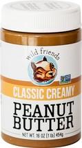 Wild Friends Foods Peanut Butter, Classic Cream... - $10.29