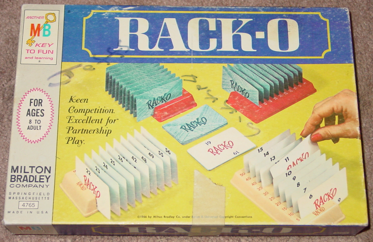 Primary image for RACKO CARD GAME PARKER BROTHERS 1966 COMPLETE 4765 GREAT CONDITION