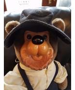 Robert Raikes Rare Amish Bear Wood Face Collec... - $85.14