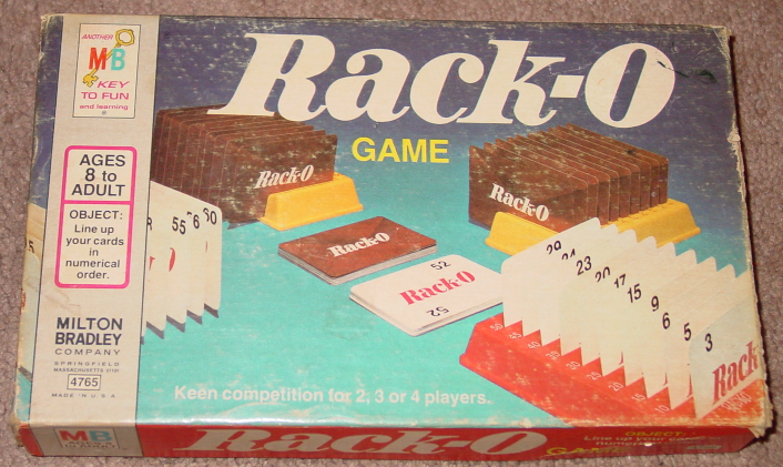 Racko Card Game Parker Brothers 1975 And 50 Similar Items