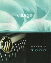 2000 Mercury VILLAGER sales brochure catalog 00 US Sport Estate - $7.00