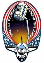 STS-98 Nasa Atlantis Sticker M534 Space Program - $1.45+