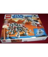 Lego #10195 MISB Star Wars Republic Dropship w/AT-OT Retired Factory sealed - $1,150.00
