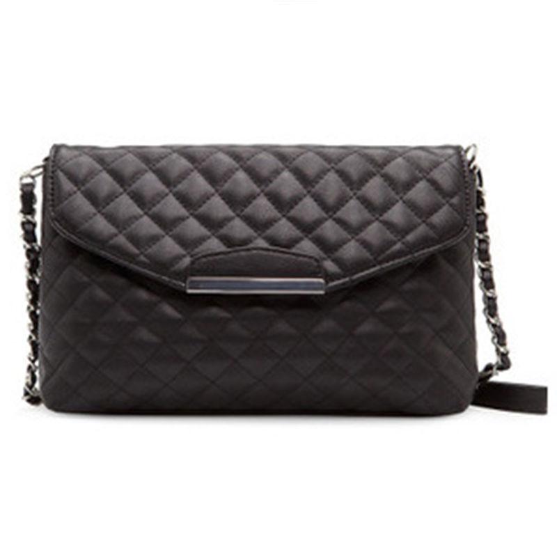 Chain crossbody women faux leather handbags Shoulder Messenger