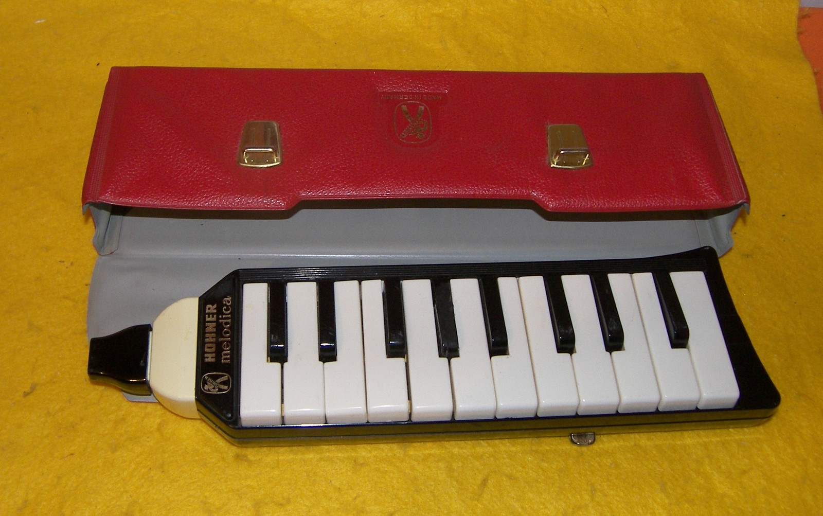 Vintage Hohner Melodica With Case - Made In Germany