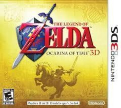 The Legend of Zelda Occarina of Time Nintendo 3DS - $29.99