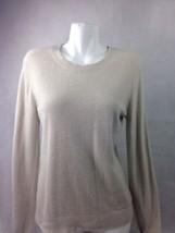 Croft & Barrow Womens Sweater Off white SizeS Bin27#25 - $15.87