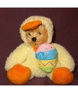 "Teddy Bear Duck Costume Easter Egg  Plush Stuffed Animal Toy 5"" Plushlan... - $7.78"