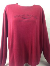 Eddie Bauer Mens Top Red XXL Bin27#27 - $10.40