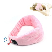 Wireless Bluetooth 4.1 Stereo Sleeping Headphone Wear Eye Mask Phone Cal... - $32.65