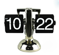 Retro Flip Down Clock - Internal Gear Operated - $39.99