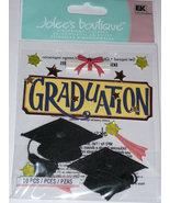 GRADUATION CAPS Jolee's Boutique 3d Scrapbooking Stickers- High school, College, - $2.69