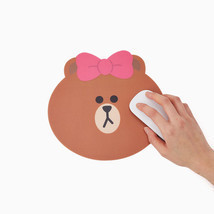 LINE Friends CHOCO Character BROWN Sister Mouse Pad Desktop Computer Acc... - $229,62 MXN