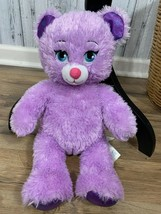"Disney Frozen Build A Bear Anna Glittery Purple Plush Stuffed 17"" - $15.84"
