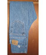 Men's Levis Authentic Signature Regular Fit Blue Jeans Size 34x34 #2 - $15.99