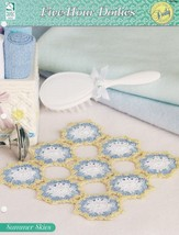Summer Skies, Crochet Collectible Doily Pattern Leaflet HWB 109165 NEW - $1.95