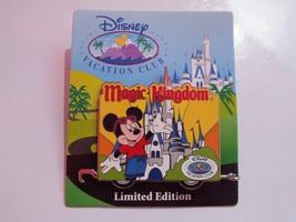 Disney Pin - Disney Vacation Club - Magic Kingdom Mickey Mouse LE of 3000 #69497 - $20.29