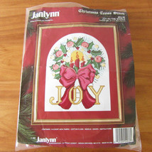 "Janlynn Counted Cross Stitch Kit ""Joy to the World"" Christmas Holiday #54-36 - $4.94"