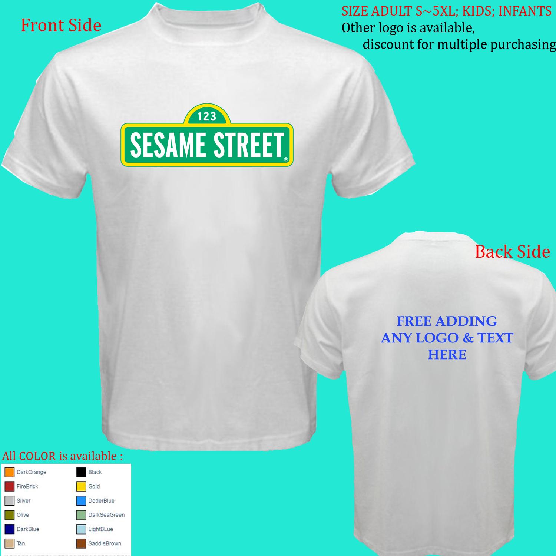 Sesame Street  All Size Adult S M L-5XL Kids Infants for sale  USA