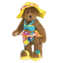 """Boyds Bears """"Sunny Beachbeary"""" #4038189 - 12"""" FoB Plush Bear- New- 2014 - $59.99"""