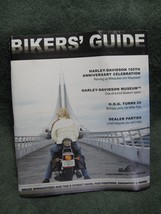Harley Davidson 105th Anniversary Celebration Official Bikers' GUIDE-Collectible - $16.95