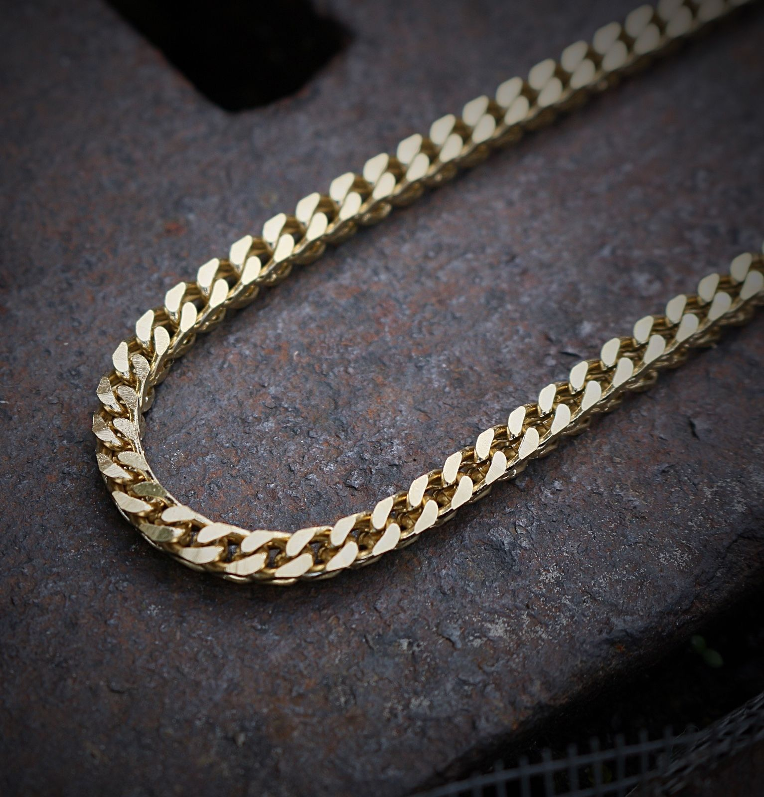 Hip Hop Franco Chain Necklace 30 Inches 316 Stainless Steel