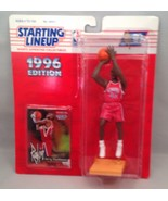 1996 Starting Lineup Superstar Collectible Figure Jerry Stackhouse - $9.75
